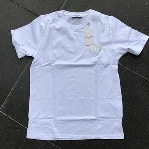 Dior Casual T-shirt men's Short Sleeve